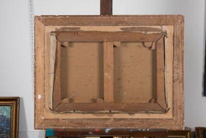 Louis Agricol MONTAGNE (1879-1960) Les Martigues. Huile sur toile. Signée en bas...