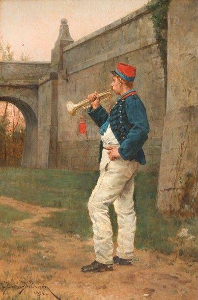 Etienne Prosper BERNE-BELLECOUR (1838-1910)