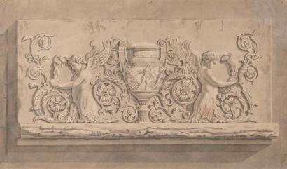 Attribué à Jacques-Louis de LA HAMAYDE DE SAINT-ANGE (1780-1860)