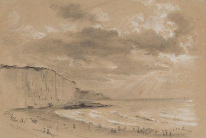 Edme-Adolphe FONTAINE (1814-1883) - Carte de visite d'Edme-Adolphe Fontaine, « 4...