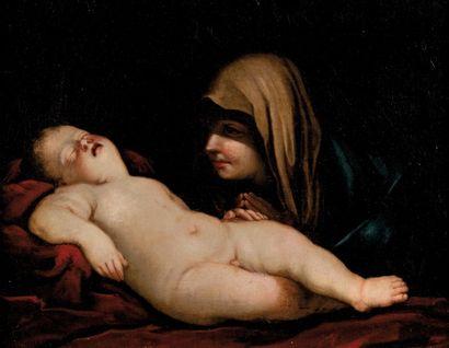 Giovanni Batista SALVI dit SASSOFERRATO (1609-1685)<br>entourage de