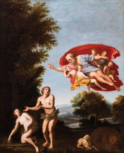 Ecole ITALIENNE du XVIIème siècle, suiveur du DOMINIQUIN