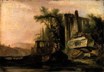 Ecole FRANÇAISE du XVIIème siècle,<br>suiveur de Jean Baptiste LALLEMAND
