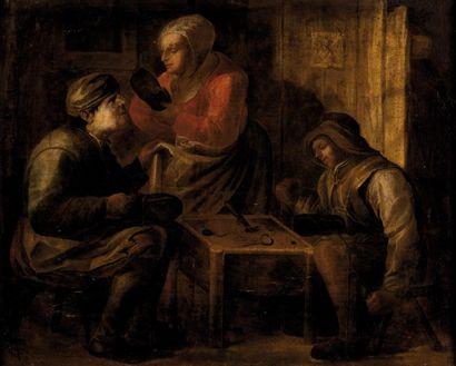 Ecole HOLLANDAISE du XVIIème siècle, <br>entourage de Jan van DE VENNE