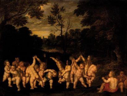 Ecole FLAMANDE du XVIIeme siècle, <br>entourage de Jan van BALEN