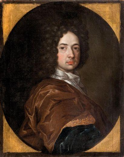 Ecole ALLEMANDE du XVIIIème siècle Portrait de Johann Georg von Raumer