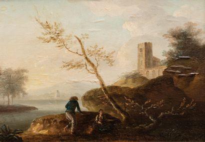 Ecole FRANCAISE du XVIIIème siècle, <br>entourage de LACROIX de MARSEILLE