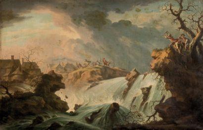 Ecole FRANÇAISE du XVIIIème siècle, suiveur de Philippe Jacques de LOUTHERBOURG