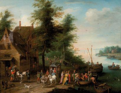 Attribué à Carel BESCHEY (1706-1770)