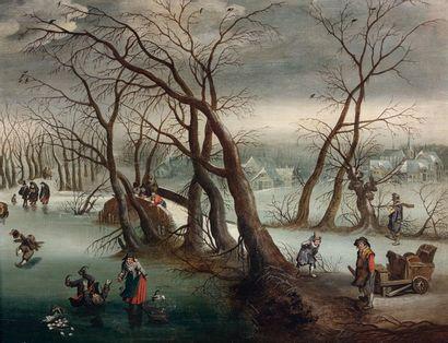 Attribué à Denis van ALSLOOT (1560-1626)