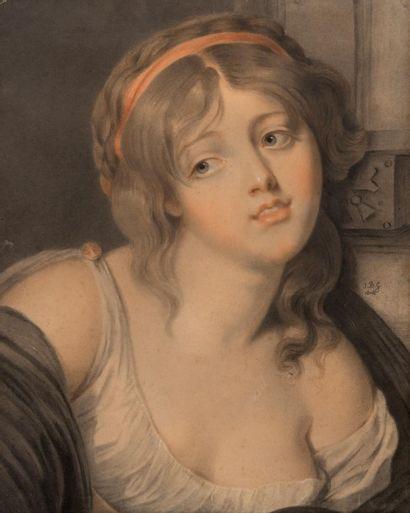 Attribué à Jean-Baptiste GREUZE (1725-1805)
