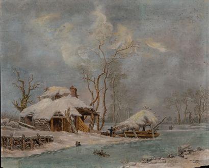 Attribué à Louis Claude MALBRANCHE (1790-1838)