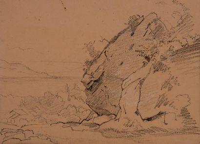 Jules Louis-Philippe COIGNET (1798-1860), attribué à