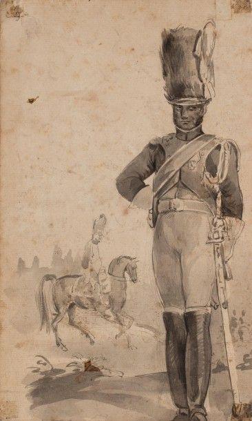 Joseph-Louis-Hippolyte BELLANGE (1800-1866)