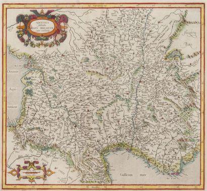 Carte géographique de l?Aquitaine XVIIIème...