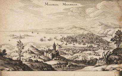 Vue de Marseille et de sa rade. Début du...