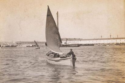 Toulon vers 1900 11 photographies. 5,7 x...