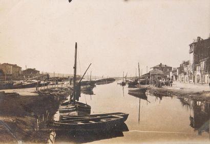 Martigues vers 1900 11 photographies. 5,7...