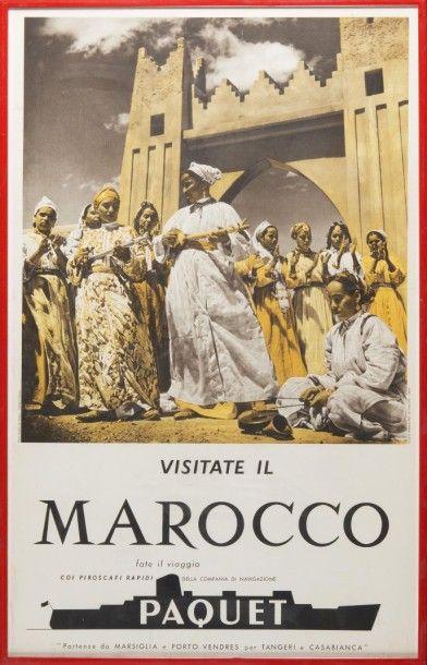 Compagnie Paquet Maroc, photo studio Souissi...