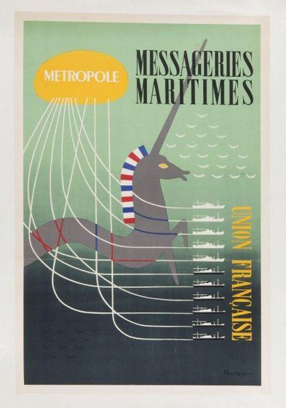 Compagnie de Messageries Maritimes - Union...