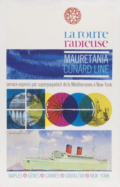 Cunard Line Mauretania Méditerranée - New...