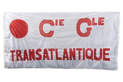 Pavillon de la Compagnie Générale Transatlantique...