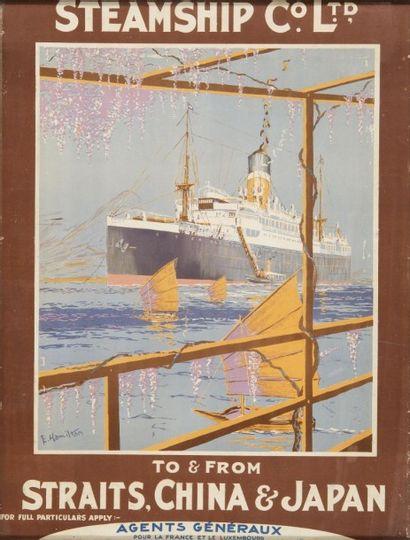 Compagnie Steamship Straits, China, Japan....
