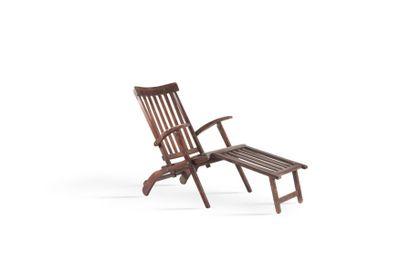 Paire de chaises longues Bois. Vers 1930