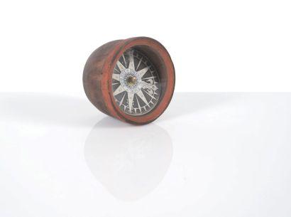 Compas sec en forme de bol Epoque XVIIIème...