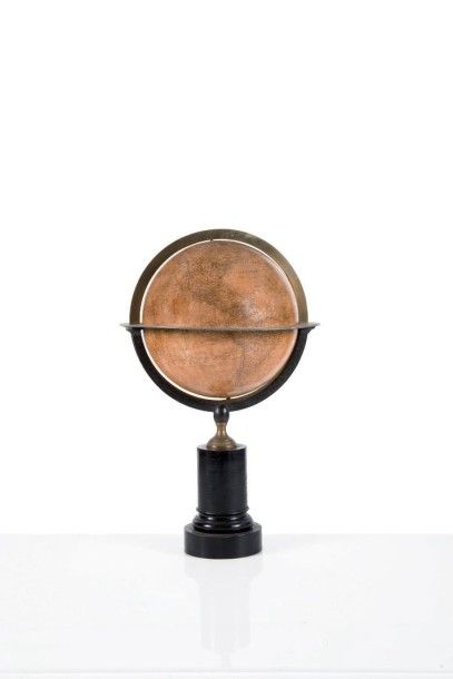 Globe terrestre par Charles DIEN Première...