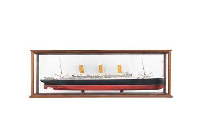 Maquette du paquebot «Vaterlan» 54 x 158...