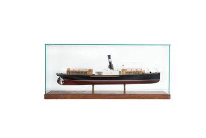 Maquette bateau portuaire de Istambul «Le...