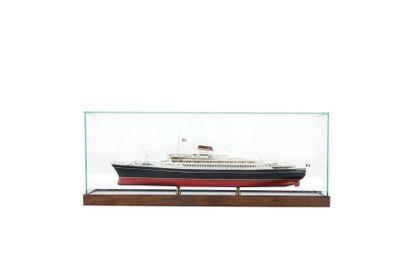 L?Andrea Doria Maquette d?agence au 1/300ème....