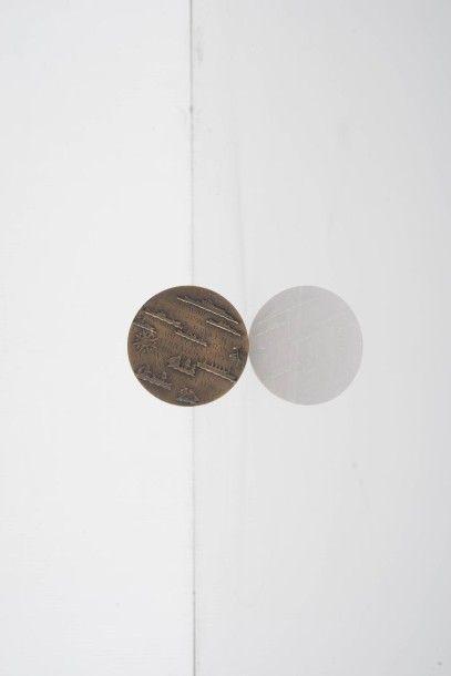 Compagnie générale transatlantique Médaille...