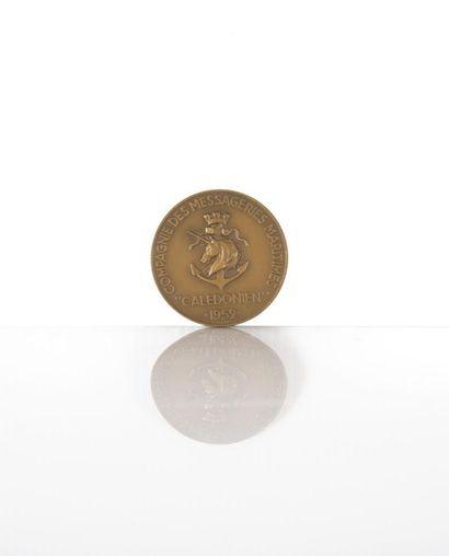 Compagnie des Messageries Maritimes Médaille...