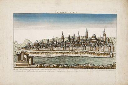 Vue de Jérusalem, au XVIIIème siècle Vue...
