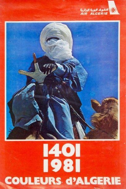 Air Algérie Calendrier pour l?année 1981....