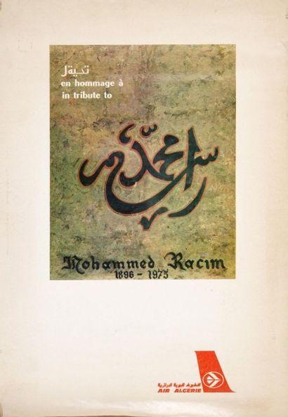 Racim Mohammed Calendrier Air Algérie pour...