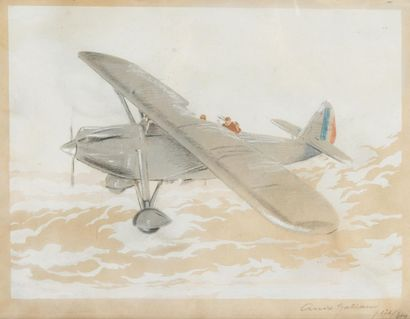 André Gal iand Avion monomoteur français....