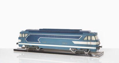 SNCF Maquette d?une locomotive Diesel BB...