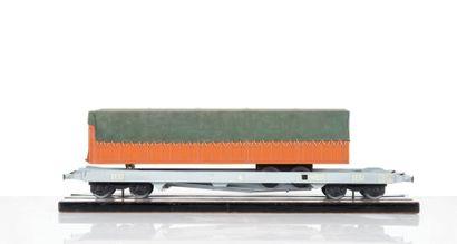 SNCF Maquette d?un Wagon type kangourou avec...