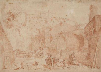 Entourage d'Hubert ROBERT (1733-1808)