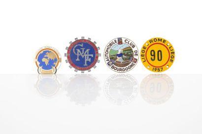 4 Insignes d?automobiles club