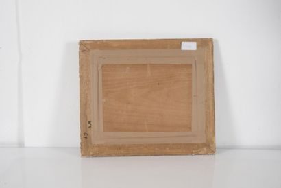 Paul NICOLAI (1876-1948/52) Scène orientaliste. Huile sur panneau. Signée en bas...