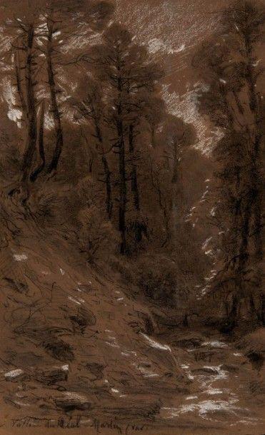 Vincent COURDOUAN (1810-1893) attribué à