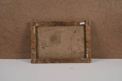 RENE SEYSSAUD (1867-1952) L'aube. Huile sur toile. Signée et datée 1896 en bas à...