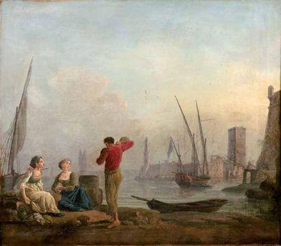Attribué à Jean HENRY d'ARLES (1734-1784)