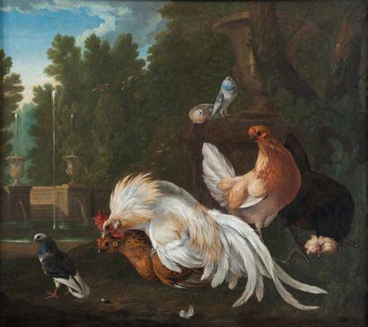 Peter I CASTEELS (act.1630-1645) attribué à