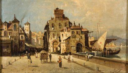 August von SIEGEN (1850-?)