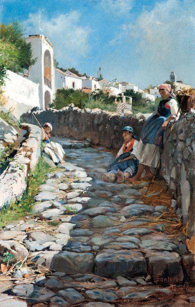 Francesco Raffaello SANTORO (1844-1927)